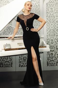 Black dress occasional mermaid dress