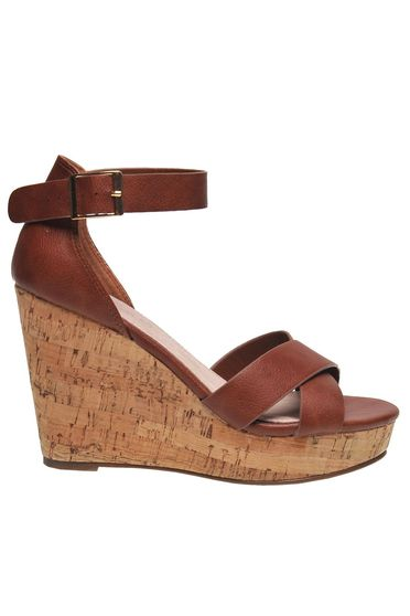 Brown sandals casual from ecological leather bars with external closure