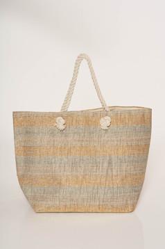 Medium grab handles bag beach wear
