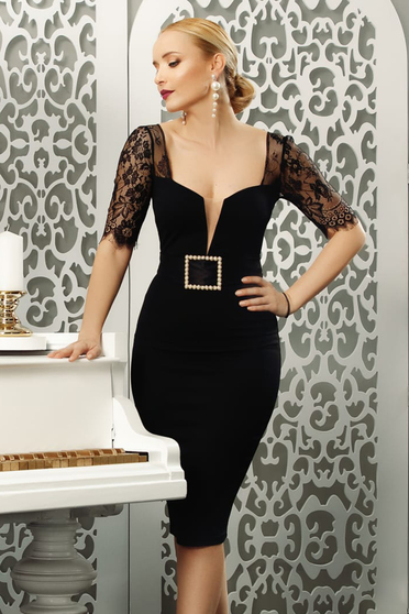 Black dress occasional