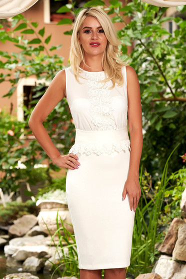 StarShinerS ivory set elegant 2 pieces with inside lining embroidered