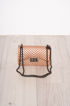 Lightpink bag occasional long chain handle long, adjustable handle