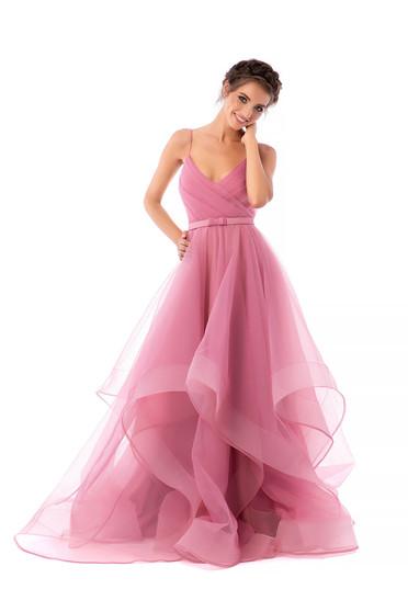 Ana Radu lightpink dress luxurious