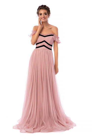 Ana Radu lightpink dress luxurious