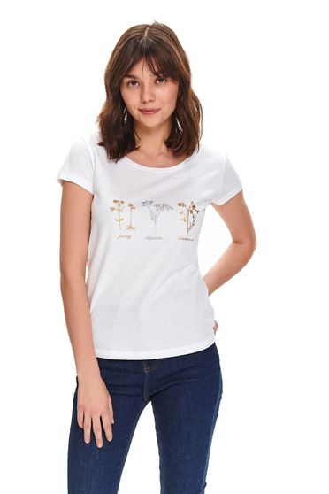 Top Secret S047746 White T-Shirt
