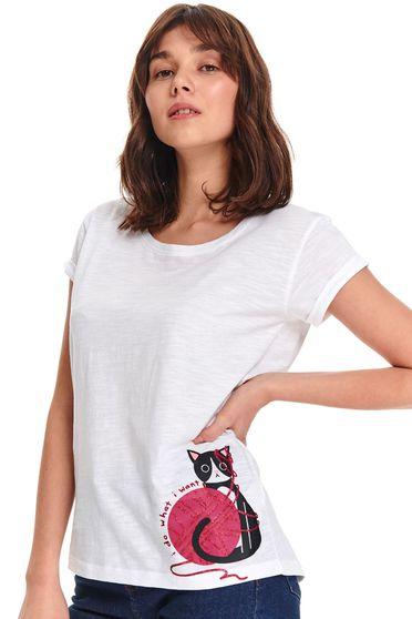 Top Secret S047747 White T-Shirt