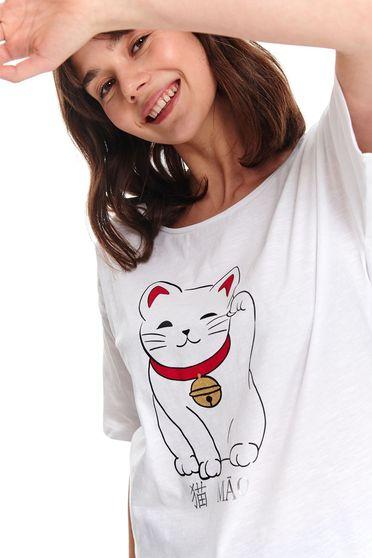 Top Secret S047748 White T-Shirt
