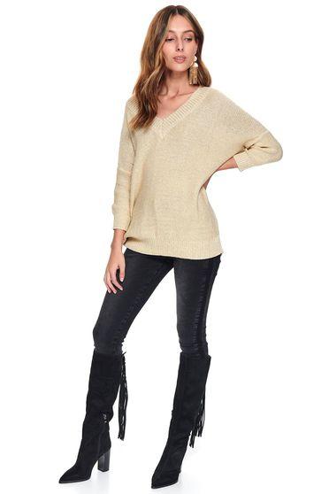 Top Secret S047789 Peach Sweater