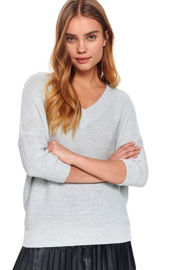 Top Secret S047790 White Sweater