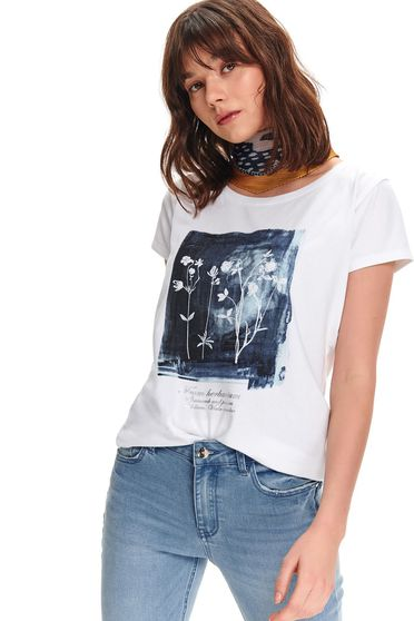 Top Secret S047796 White T-Shirt