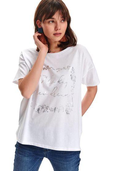 Top Secret S047797 White T-Shirt