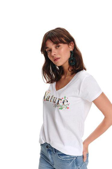 Top Secret S047799 White T-Shirt