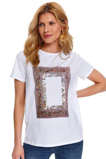 Top Secret S047906 White T-Shirt