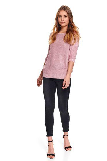 Top Secret S048072 Pink Sweater
